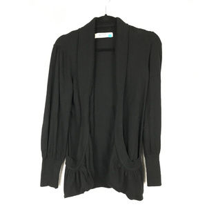 SPARROW open front cardigan with pockets